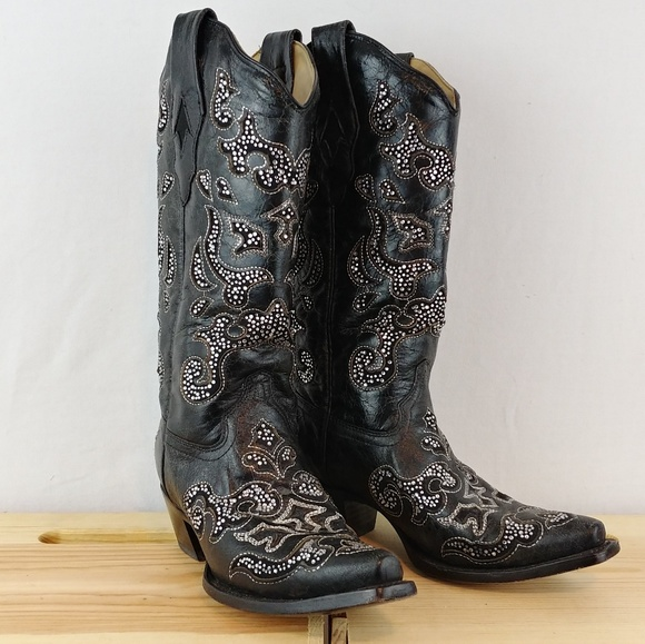 corral crystal boots